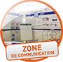 Zone de communication